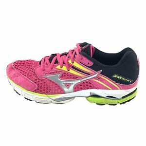 Mizuno Womens Wave Inspire 9 Lace Up Running Pink Shoes Size US 9