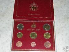 BU VATICAN 2004 8 pièces 3,88 EURO Vatikan Vaticano Jean Paul II Giovanni Paolo