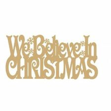 Christmas MDF Decorative Plaques & Signs