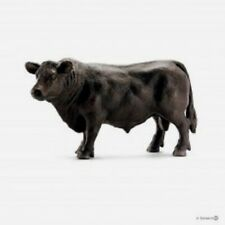 Schleich 1/20 Toy Farm Animal Plastic Black Angus Bull