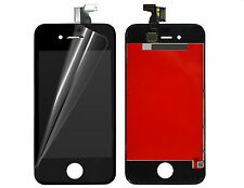 VETRO TOUCH SCREEN IPHONE 4 + LCD DISPLAY RETINA + FRAME PER APPLE IPHONE 4 NERO