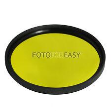 52mm Yellew Color Conversion Lens filter For Digital DSLR SLR Camera
