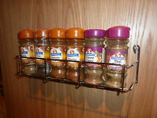SPICE RACK - ONE TIER X 300MM FOR BACK OF KITCHEN DOOR