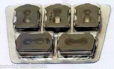 5 Rema Tip Top Original Plugs for Motorcycle Rep & Air Tubeless Tyre Repair Kit