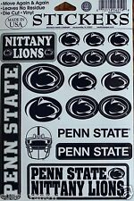 18 Penn State Nittany Lions Decals Stickers Licensed NCAA College dorm