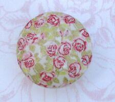 Romantic Pink Roses Ceramic Knob desk kitchen office pull chic shabby flowers
