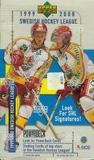 1999-00 UD SWEDISH HOCKEY LEAGUE SEALED BOX