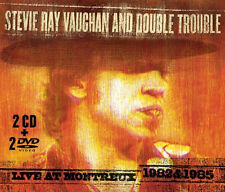 Stevie Ray Vaughan - Live at Montreux 1982 & 1985  (CD 2 Discs +  2 DVD) NEW