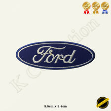 Ford Car Brand Logo Racing Sponsor Embroidered Iron On/Sew On Patch Badge