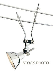 TECH LIGHTING K-JANE KABLE LITE TRACK HEAD ~ 700KJAN05S ~ SATIN NICKEL ~ EUC