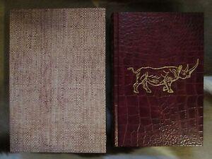 Hunting the African Rhino by Jim Rikhoff Limited Edition Safari Amwell Press
