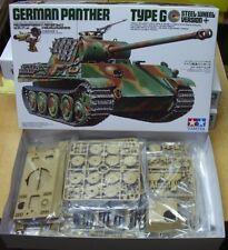 35174 German Panther Type G Steel Wheel Tamiya 1/35 plastic model kit