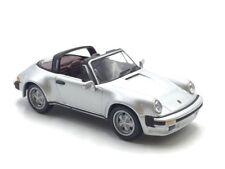 porsche 911 targa 1/43 un siècle d'automobiles n195/210  hachette très bon état