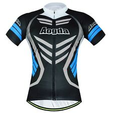 Black Armor Men's Cycling Shirts Vintage Mountain Bike Bicycle Cycle Jersey Tops