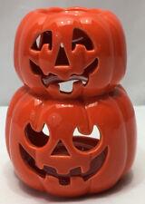 Halloween Orange Pumpkin Candle Holder White Barn Co Oil Warmer Fall Decoration