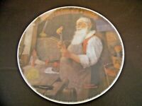 Vintage Norman Rockwell Collector's Plate Limited Edition Christmas 1984