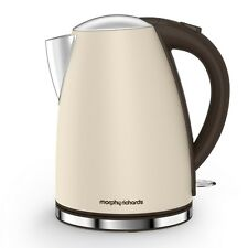 Morphy Richards Accents 1.7 Litre Stainless Steel Jug Kettle Rapid Boil Sand