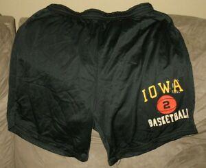 Rare Vintage 1980s Powers Iowa Hawkeyes Game Worn Practice Basketball Shorts #2