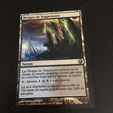 MTG MAGIC SCARS OF MIRRODIN DARKSLICK SHORES (FRENCH RIVAGES DE NAPPPENOIRE) NM