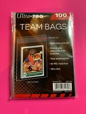 ULTRA PRO - One Pack of 100  Resealable Team Bags! Sports Trading Cards!