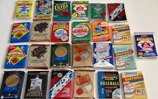 Collectible Baseball Cards 25 Unopened Packs