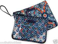 NWT Vera Bradley Beach Pouch SET in Marrakesh cosmetic case 14809 199 CO