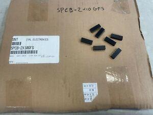 660-PCS Header Connectors SPCB-2X10GFS Double Row 10 Position