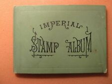 Antique Stamp Album_500 World Stamps_Early 1900s