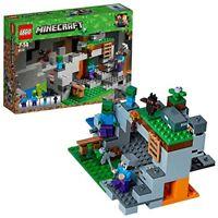 LEGO - 21141 - Minecraft - Jeu de Construction - la Grotte du Zombie - NEUF