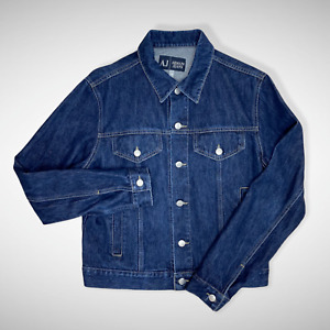 Armani Jeans Denim Jacket Made in Italy