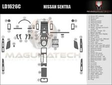 Fits Nissan Sentra 2010-2012 Large Premium Wood Dash Trim Kit