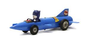 1966 FUJI MARU Batman Spirit car Batmobile Blue Friction RARE