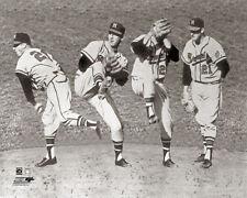 WARREN SPAHN MILWAUKEE BRAVES c.1957 Classic MLB Baseball Premium POSTER Print
