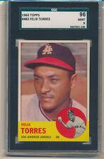 1963 Topps Felix Torres (Rookie Card) (#482) SGC96=9 SGC