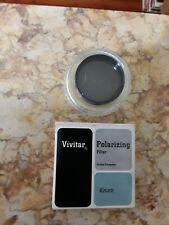 Vintage Vivitar 49 mm Polarizing Filter 49 mm Double Threaded. Made in Japan.