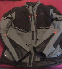 Oxford Mondial Laminated Advanced Motorcycle Motorbike Textile Jacket Tech Grey