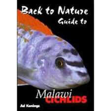 Back to Nature Malawi Cichlids by Ad Konings - Aquarium Book (BK030)