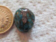 Cumpas Turquoise 8.9 carat Cabochon Blue Cab Water Web