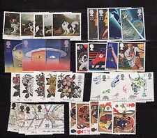 More details for 1990-1999  unmounted mint  commemorative stamps in year sets