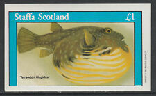GB Locals - Staffa 3514 - 1982  FISH imperf souvenir sheet unmounted mint
