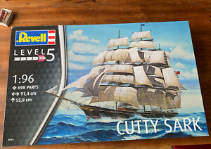 Cutty Sark REVELL 1:96, Segelschiff Level 5