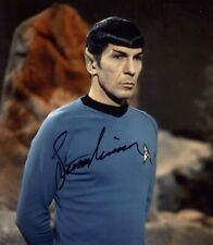 Leonard Nimoy Autographed Signed 8x10 Photo ( Star Trek ) Reprint