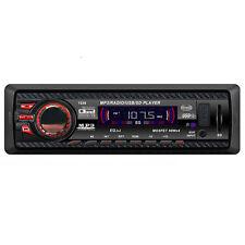 Audio Stereo Auto Dash FM Con Mp3 Lettore USB SD Input AUX Ricevitore 1238 Nera