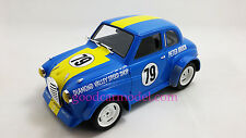 ACE Handmade 1:18 Car Model Late 60's Peter Brock's Austin A30 Race Car Blue
