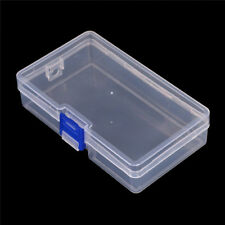 Plastic Clear Parts Storage Box Jewelry Craft Container Organizer Case H&P