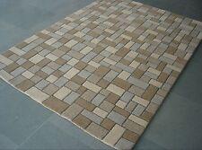 Designer Wollteppich 100 % Schurwolle Teppich Schurwollteppich ca. 160 x 230 cm