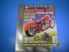 American Iron Magazine February 2017 Rocker's Rollers Bagger Upgrades M5884