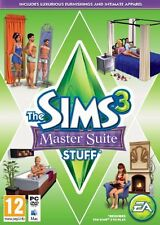 The Sims 3 Master Suite Stuff Expansion for PC and MAC Brand New Sealed