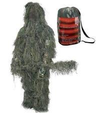 Ghillie Suit XL/2X 3D Camouflage Complete 4 Pc. Hood, Rifle Wrap, Pants, Jacket