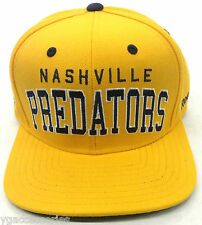 NHL Nashville Predators Reebok Snap-Back Cap Hat Style   NF93Z NEW! c5706074fb